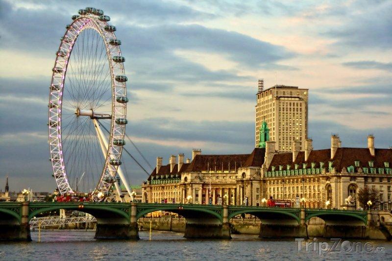 Fotka, Foto Londýn, London Eye (Velká Británie)