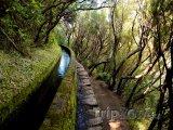Madeira - zavlažovací kanál Levada