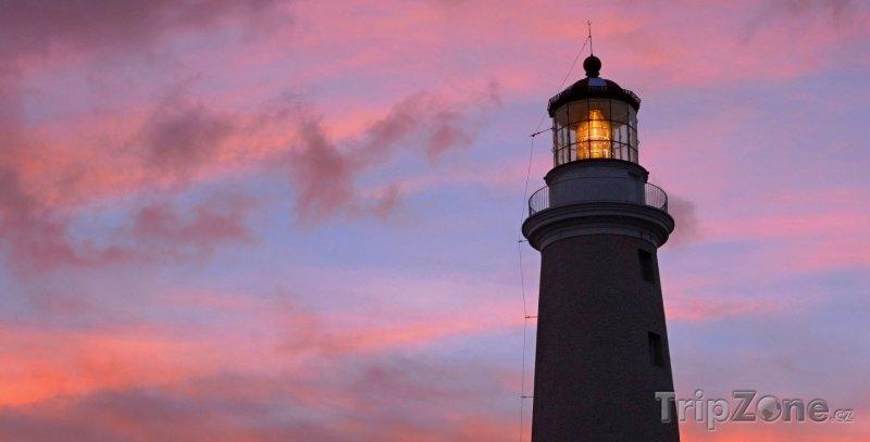 Fotka, Foto Maják ve městě Punta del Este (Uruguay)