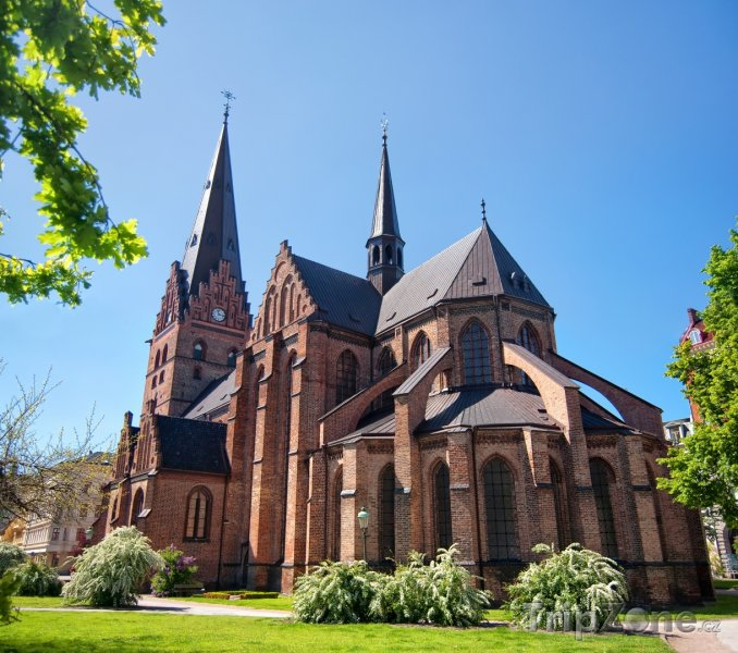 Fotka, Foto Malmö - kostel sv. Petra (Švédsko)