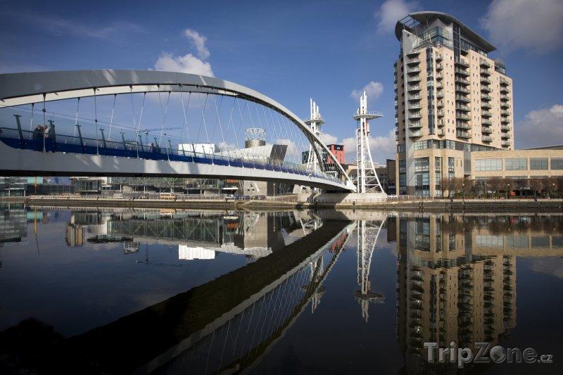 Fotka, Foto Manchester, Salford Quays (Velká Británie)