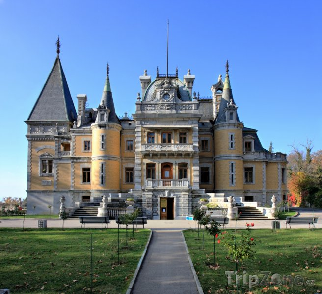Fotka, Foto Massandra - palác cara Alexandra III. (Ukrajina)
