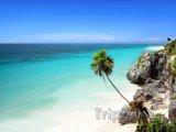 Mayan Riviera, oblast Tulum, pláž