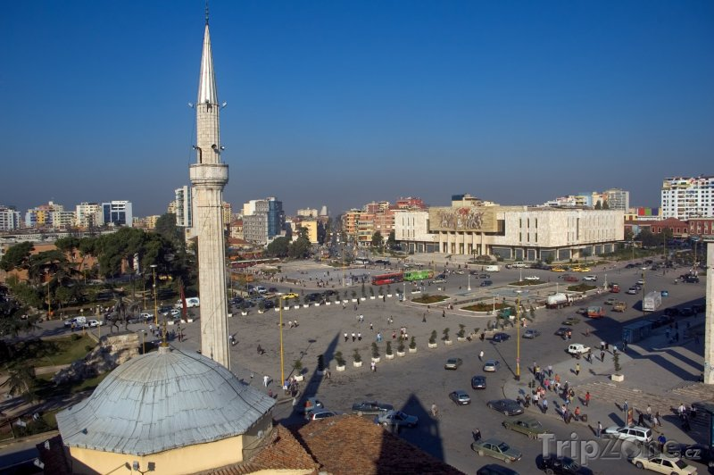 Fotka, Foto Mešita Ethem Bey - Tirana (Albánie)