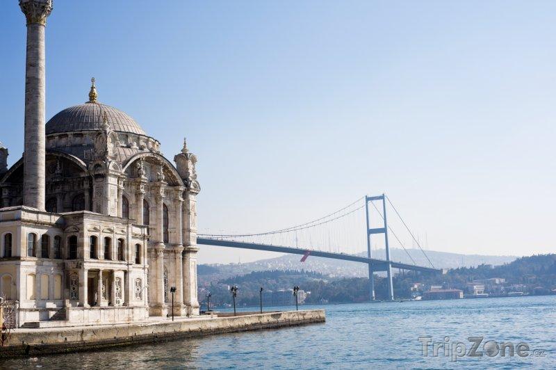 Fotka, Foto Mešita Ortakoy v Istanbulu (Turecko)