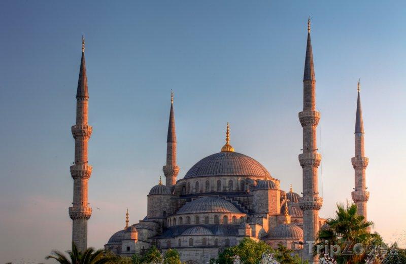 Fotka, Foto Mešita Sultan Ahmed v Istanbulu (Turecko)