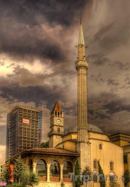 Fotka, Foto Mešita v Tiraně (Albánie)