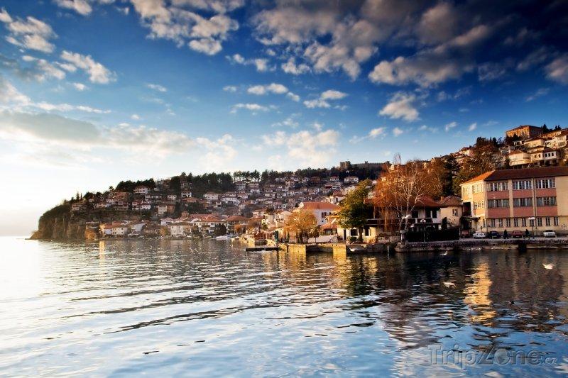 Fotka, Foto Město Ohrid, patřící mezi světové dědictví UNESCO (Makedonie)