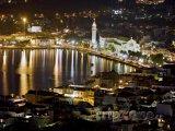 Město Zakynthos v noci