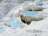Minerální prameny Pamukkale