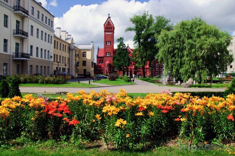 Fotka, Foto Minsk, náměstí Nezávislosti (Bělorusko)