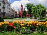 Minsk, náměstí Nezávislosti