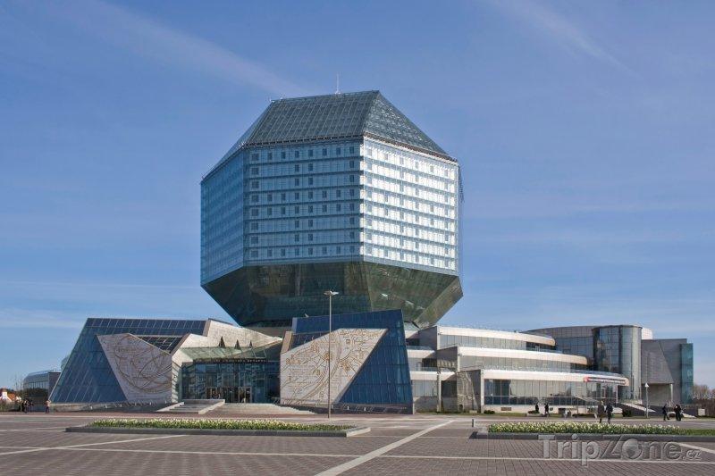 Fotka, Foto Minsk, Národní knihovna (Bělorusko)