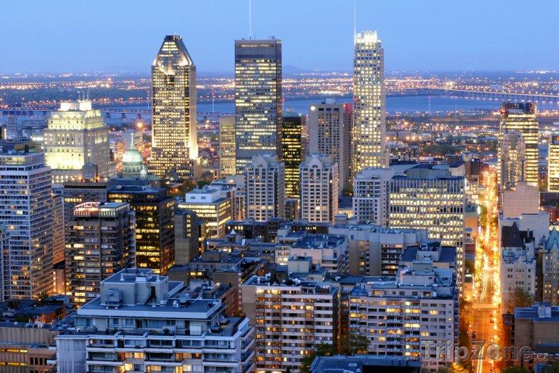 Fotka, Foto Montreal - mrakodrapy (Kanada)