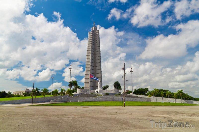 Fotka, Foto Monument José Martího na náměstí Revolution Square v Havaně (Kuba)