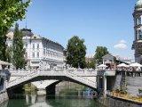 Most Tromostovje v Lublani