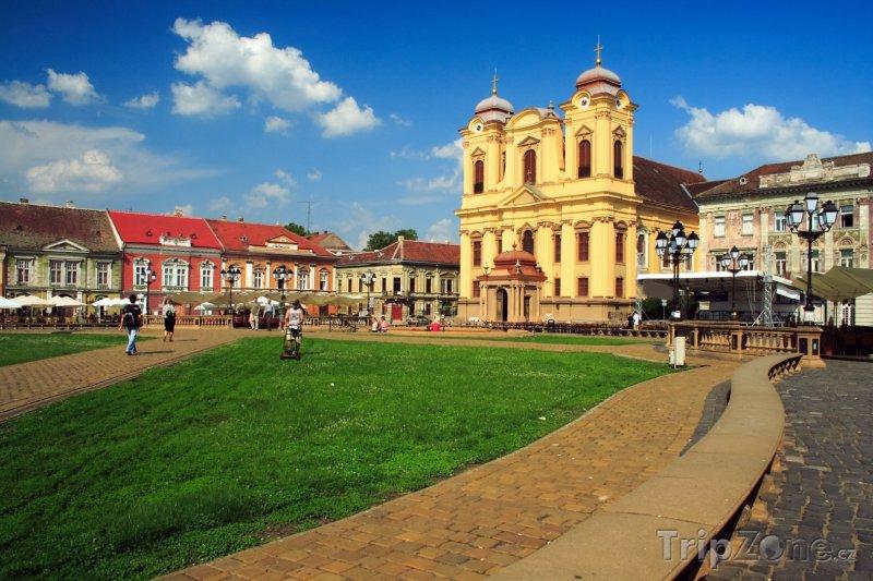 Fotka, Foto Náměstí v Temešváru (Rumunsko)