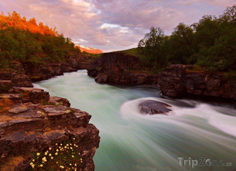 Fotka, Foto Národní park Abisko (Švédsko)