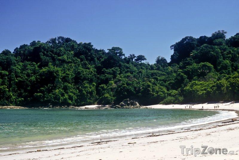 Fotka, Foto Národní park Antonio, pláž (Kostarika)