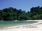 Národní park Antonio, pláž
