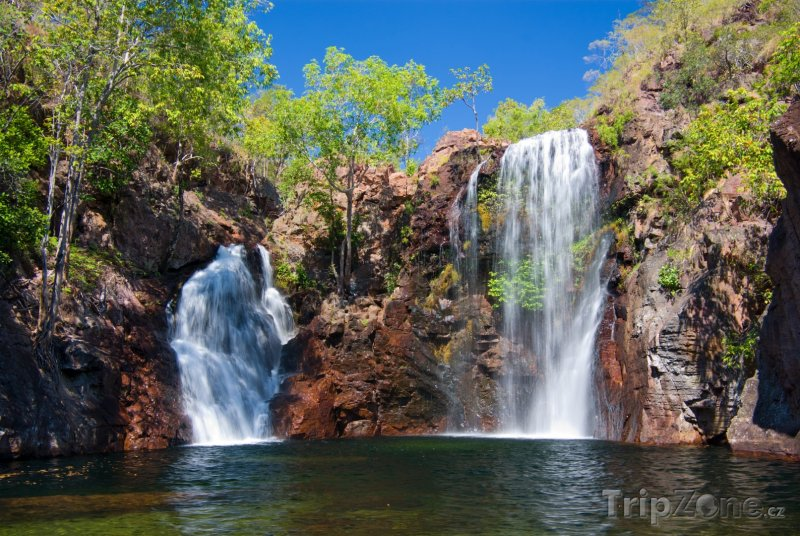 Fotka, Foto Národní park Litchfield, vodopády Florence (Austrálie)
