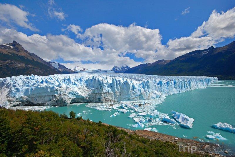 Fotka, Foto Národní park Los Glaciares, ledovec Perito Moreno (Argentina)
