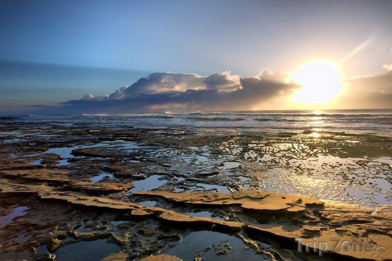 Fotka, Foto Národní park Sodwana Bay před západem slunce (Jihoafrická republika)