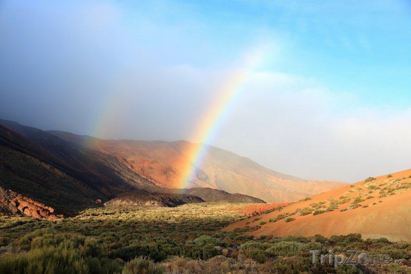Fotka, Foto Národní park Teide na Tenerife (Kanárské ostrovy, Španělsko)