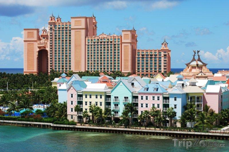 Fotka, Foto New Providence Island, resort Atlantis Royal Towers (Bahamy)