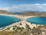 Ostrov Elafonisos, pláž Simos