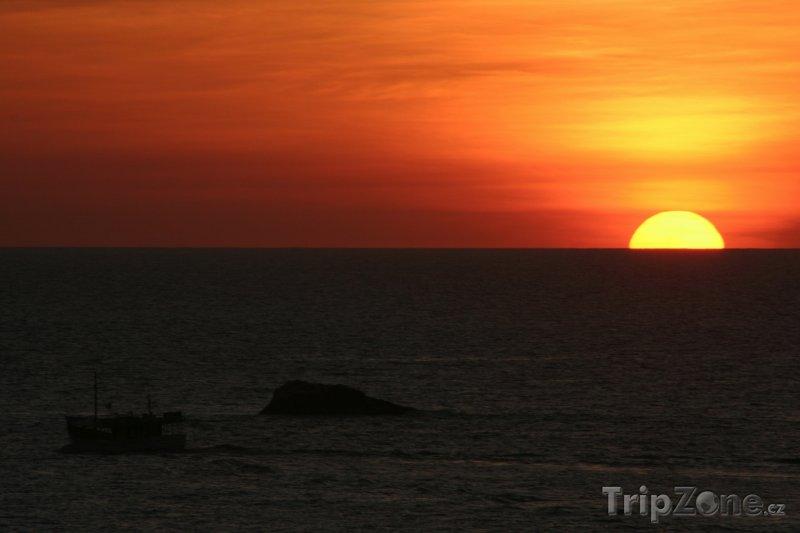 Fotka, Foto Ostrov Margarita, západ slunce (Venezuela)
