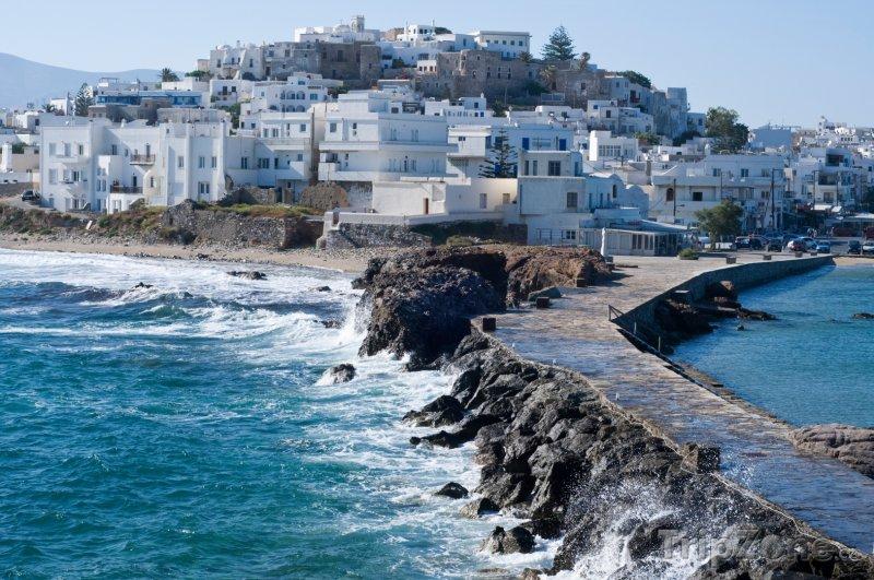 Fotka, Foto Ostrov Naxos, pohled na město Naxos (Řecko)