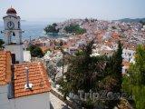 Ostrov Skiathos, panoráma města