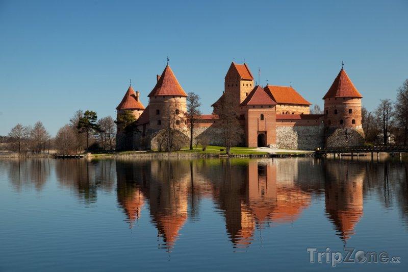 Fotka, Foto Ostrovní hrad Trakai (Troky) (Litva)