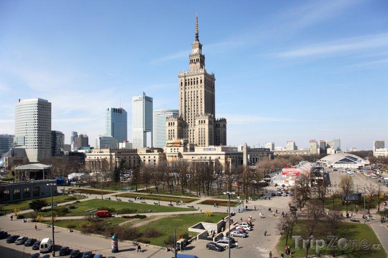 Fotka, Foto Palác kultury ve Varšavě (Polsko)