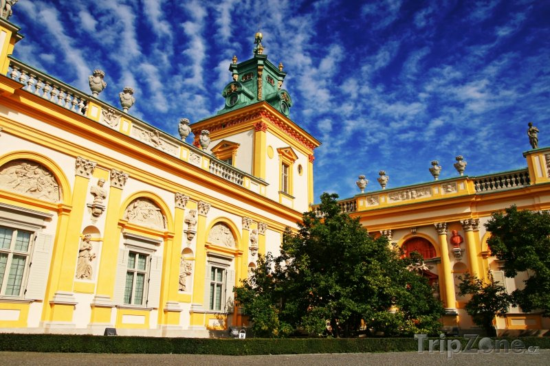 Fotka, Foto Palác Wilanów ve Varšavě (Polsko)