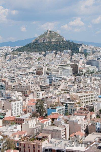 Fotka, Foto Panoráma města (Athény, Řecko)