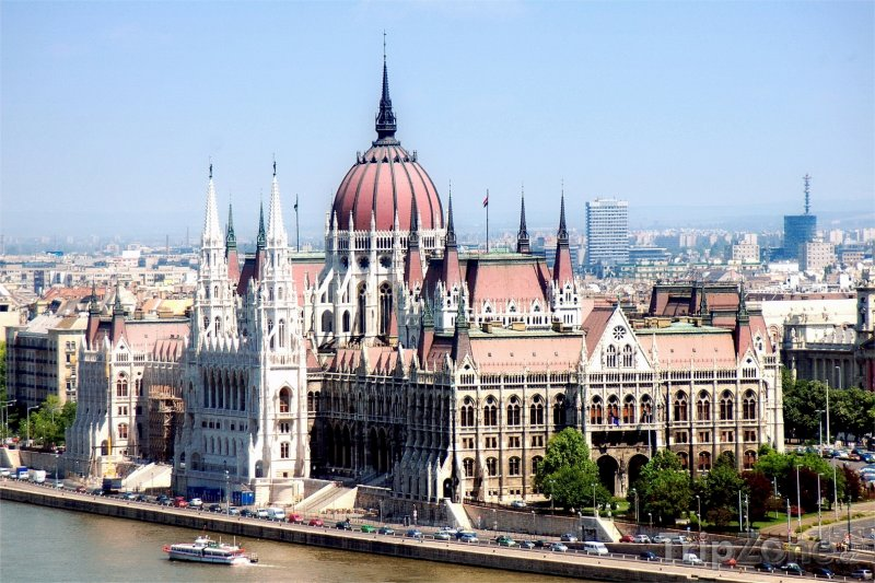 Fotka, Foto Parlament v Budapešti (Budapešť, Maďarsko)