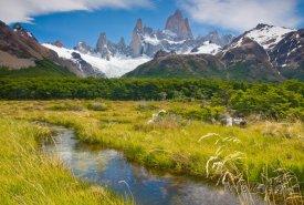 Patagonie, pohoří Monte Fitz Roy