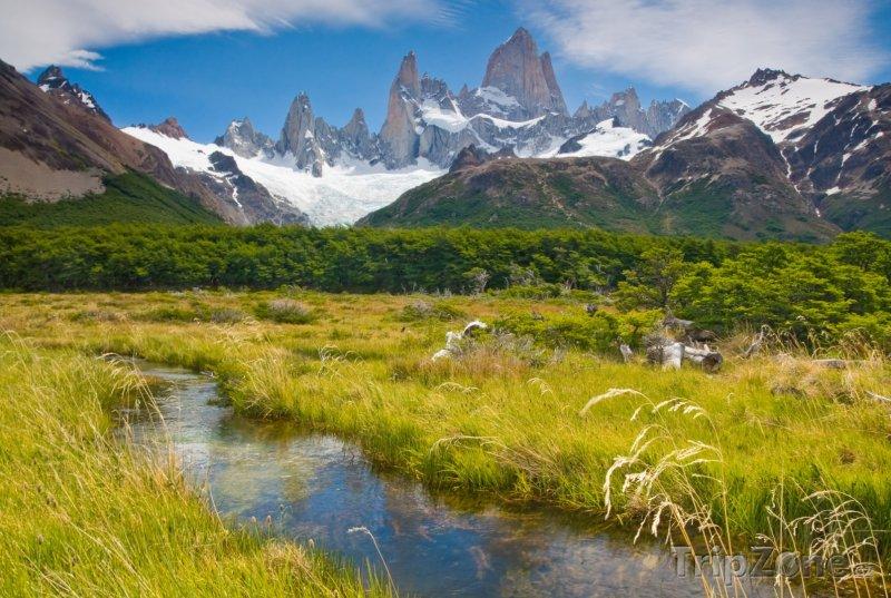 Fotka, Foto Patagonie, pohoří Monte Fitz Roy (Argentina)