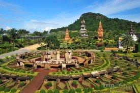 Pattaya - okrasné zahrady