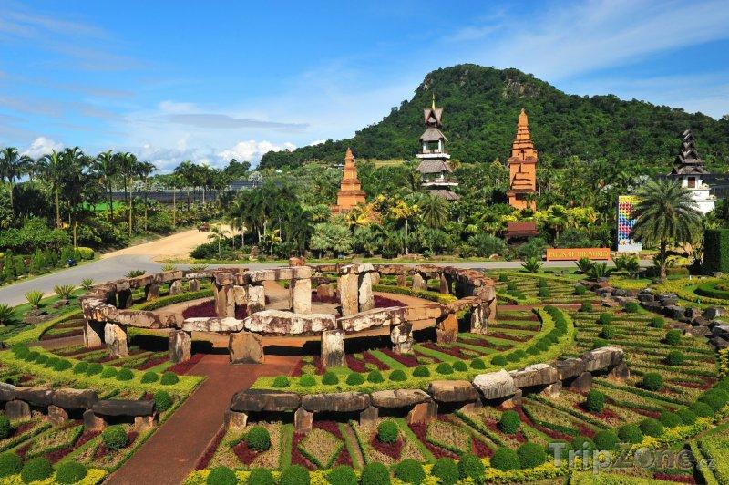 Fotka, Foto Pattaya - okrasné zahrady (Thajsko)