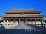 Peking, Zakázané město, palác Nebeské čistoty