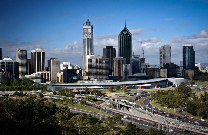 Fotka, Foto Perth, panoráma města (Austrálie)