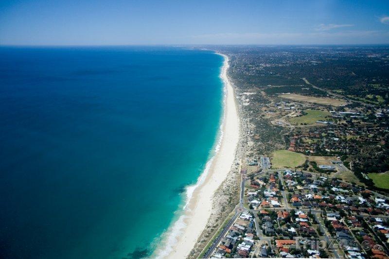 Fotka, Foto Perth, pobřeží (Austrálie)