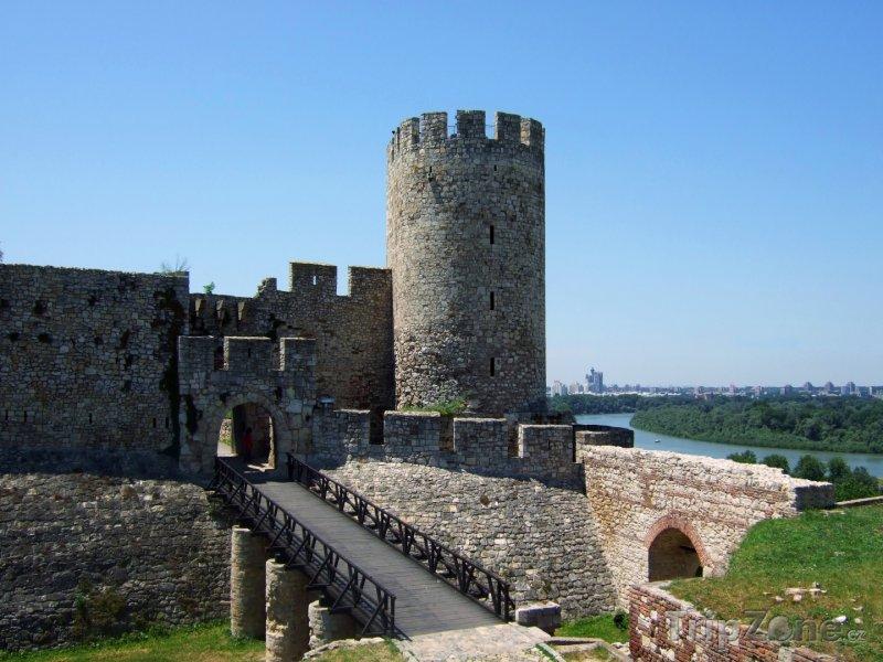 Fotka, Foto Pevnost Kalemegdan v Bělehradě (Srbsko)