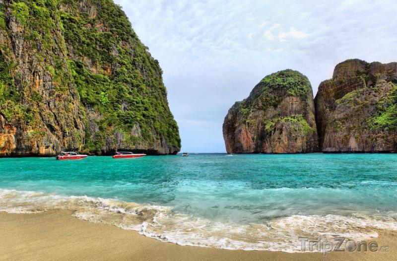 Fotka, Foto Phi Phi - Maya beach z filmu Pláž (Thajsko)