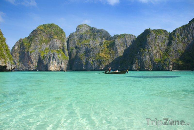 Fotka, Foto Phi Phi - pláž Maya (Thajsko)