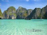 Phi Phi - pláž Maya