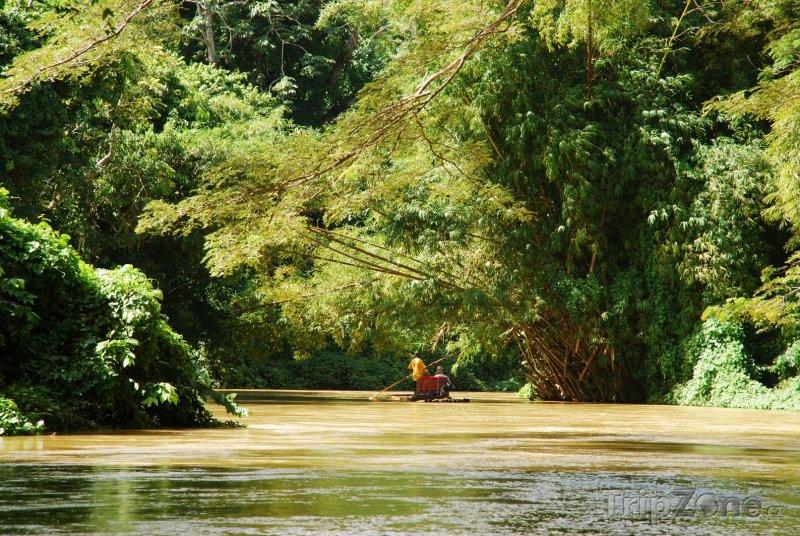 Fotka, Foto Plavba po řece Martha Brae (Jamajka)